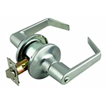 Design House 701854 Commercial Grade C-Series Classroom 2-Way Latch Lever, Satin Chrome Finish