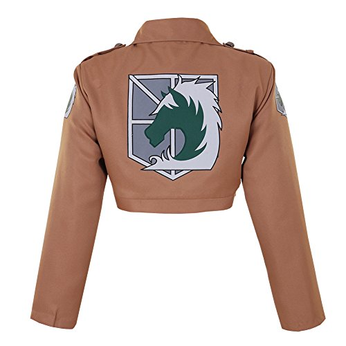 CG Costume Men's Attack on Titan Military Police Jacket Cosplay Costume