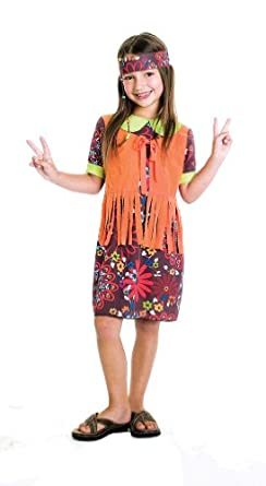 Hippie Costumes, Hippie Outfits Paper Magic Group Flower Power 60S Costume $79.99 AT vintagedancer.com