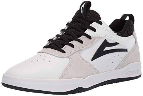 Image of Lakai Footwear Proto White/Black SUEDESize 11 Tennis Shoe, Suede, Standard US Width US