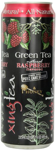 Cott Beverages Xingtea With Rasberry And Honey, 23.5-Ounce Cans (Pack Of 12)
