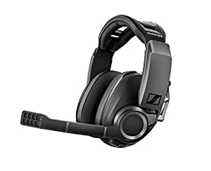 Sennheiser GSP 670 Premium Wireless Gaming Headset, Lag-Free Low-Latency and Bluetooth connection with Sennheiser 7.1 Surround Sound, Dual Audio and Chat Volume Control, PS4 + PC - Black