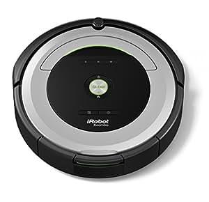 iRobot Roomba 680- Robot aspirador para suelos duros y alfombras, con tecnología Dirt Detect, sistema de limpieza en 3 fases, programable