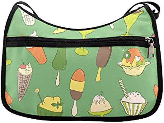 Orange Tasty Fresh Pineapple Messenger Bag Crossbody Bag Large Durable Shoulder School Or Business Bag Oxford Fabric For Mens Womens