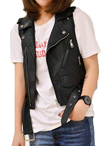 Wilsons Leather Biker Jacket - 8
