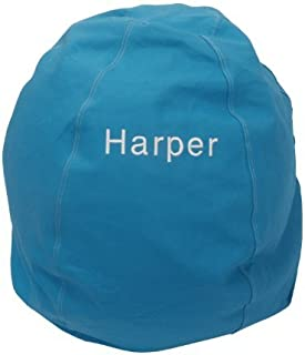 product image for Bean Bag Chair Kid Size Personalized Embroidered Comfy Bean - Aqua