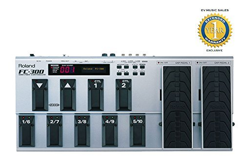 (Roland FC-300 MIDI Foot Controller with 1 Year Free Extended Warranty)