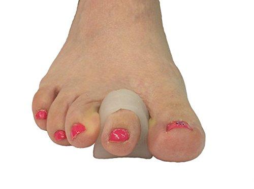 Gel Hammer Toe Support Splint Crutch, 4 Pack, Large, Hammertoe Straightener Splint from Atlas Biomechanics – splints & Supports Review