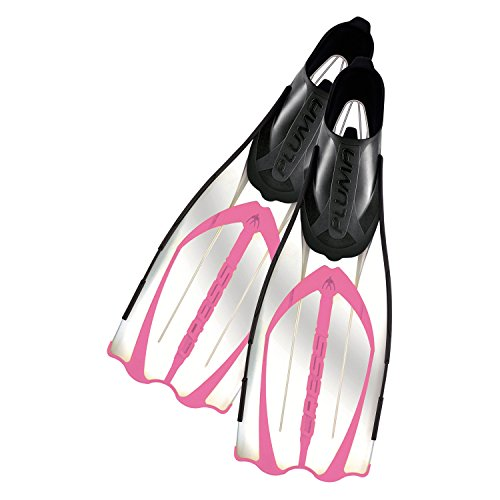 Cressi Pluma Fins Full Foot Pink 5.5/6.5