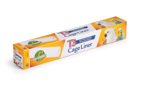 Prevue Hendryx Pet Products T3 Cage Liner, 14-1/2-Inch by (Bird Liner)