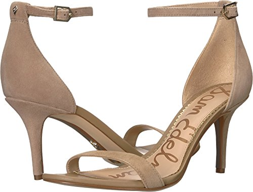 Suede Leather Fashion Edelman Kid Sam Women's Oatmeal Patti Sandals 40xUf