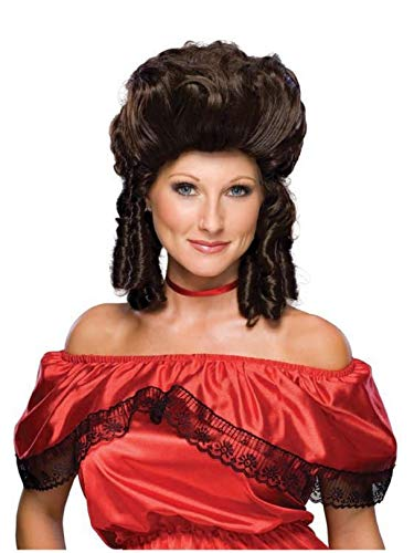Lady Adult Wig Victorian - Rubie'slonial Lady Wig, Brown, One Size