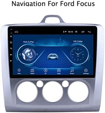 9インチカーステレオAndroid 8.1コアHDデジタルマルチタッチスクリーンカーラジオインダッシュビデオプレーヤーサポートWifi GPSナビゲーションDABのみ2005-2012フォードフォーカスをサポート