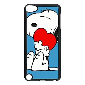 snoopy green iPod Touch 5 Case Black as a gift P4829870