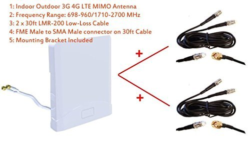 3G 4G LTE Indoor Outdoor wide band MIMO Antenna for D-Link DWR-961 4G LTE Router