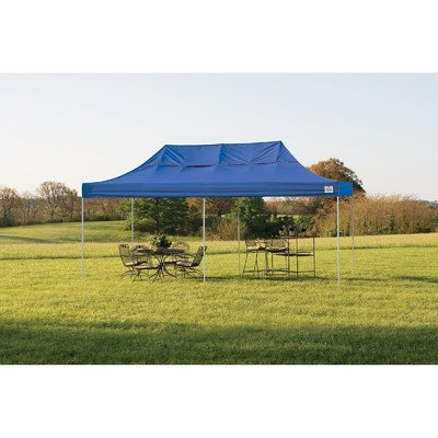 10' x 20' Straight Leg Popup Canopy with Black Roller Bag -