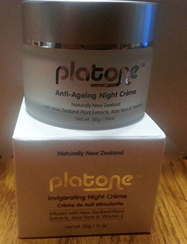 Platone Invigorating Night Cream – 1.75 Oz