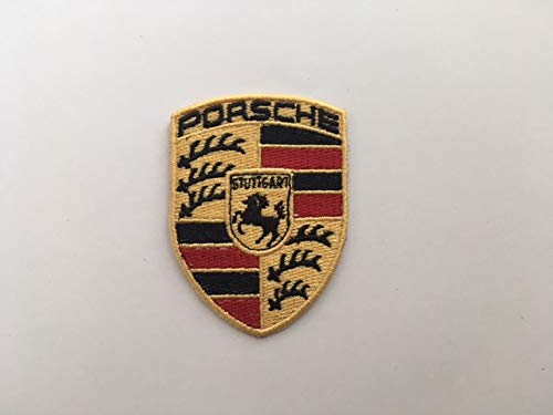 ON RICAMI Patch brodé thermocollant Porsche