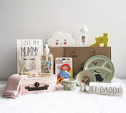 Canastilla bebé niña Happy Baby - Cesta regalo bebé a partir de 6 meses - Incluye