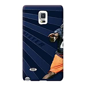Great Cell-phone Hard Cover For Samsung Galaxy Note 4 (Ync29131GJeI) Provide Private Custom Colorful Chicago Bears Image