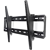VideoSecu Tilting TV Wall Mount for Universal 50 52 54 55 60 62 65 68 70 75, Some Models up to 80 Plasma LCD LED Flat Panels TVs MP804B C06