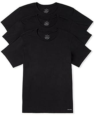 Calvin Klein Men's Undershirts Cotton Classics Multipack Crew Neck T-Shirts