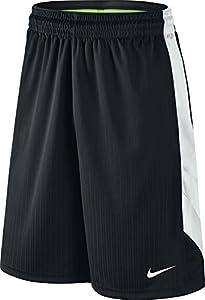 NIKE Men's Layup Shorts 2.0 Black/White/Black/White Shorts SM