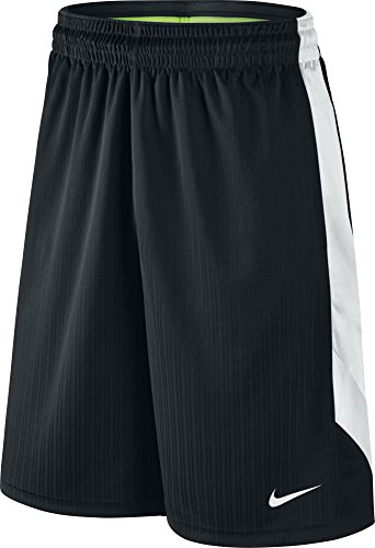 Nike Mens Layup Basketball Shorts 2.0 (XL X 11 , Black/White )