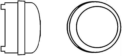 Einbauort: links Kabel: 500mm Einbau LED HELLA 2PT 009 599-131 Tagfahrleuchte 12V//24V