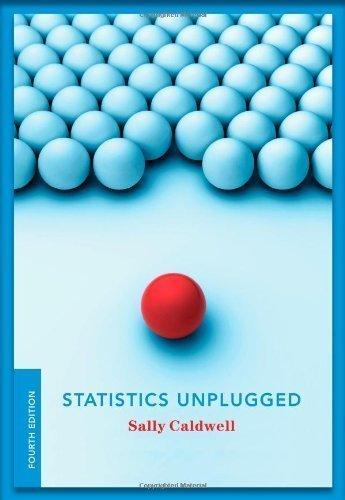 Statistics Unplugged 4th (fourth) Edition by Caldwell, Sally [2012]