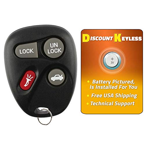 - Discount Keyless Replacement Key Fob Car Entry Remote For Buick Century Regal Intrigue Grand Prix 10246215