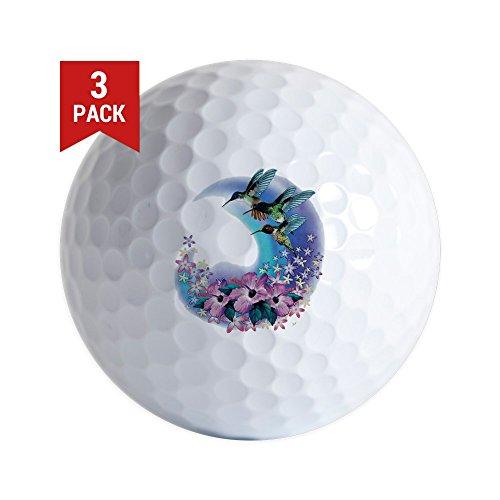 Golf Hummingbird (Golf Balls (Set of 3) Hummingbird And Hibiscus)