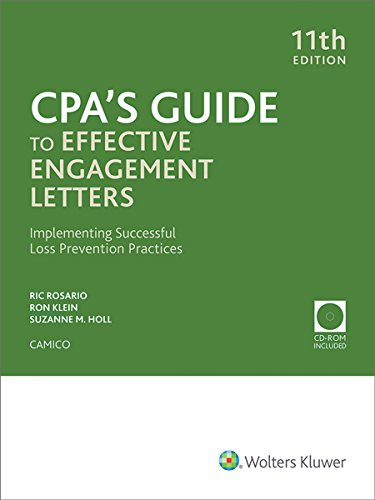 CPA's Guide to Effective Engagement Letters (11th Edition) w/CD