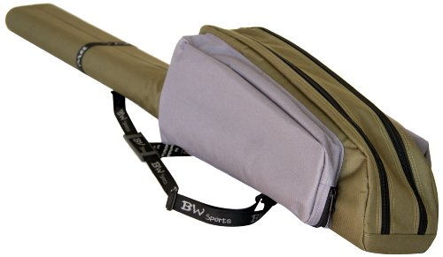 (BW Sports Dual Spinning Rod and Reel Case for 9 Ft. Spinning Rods - RC 2090)