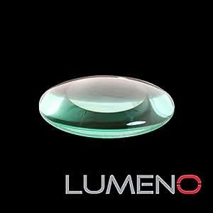 Lumeno 613X Lente para Lámpara lupa 3, 5 u 8 dioptrías (modelo: 6133, 6135 o 6138) diámetro 125 mm, lente de vidrio real, lente de repuesto para lupa de 3,5 u 8 dioptrías.