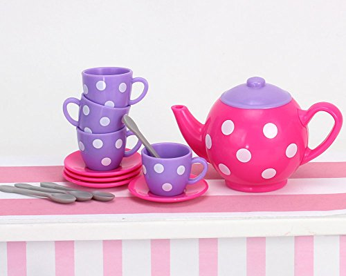 "Sophia/'s 18/"" Doll Tea Party /& Desserts Set with 25Piece"