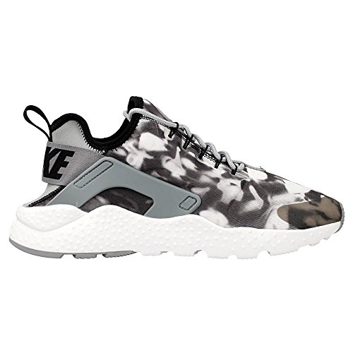Nike - W Air Huarache Run Ultra - 844880001 - Colore: Bianco-Nero - Taglia: 38.5