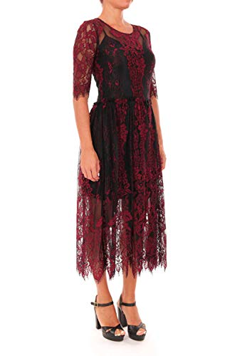Negro Mujeres Liu jo Dress W68059j5503 zt4w6InqU