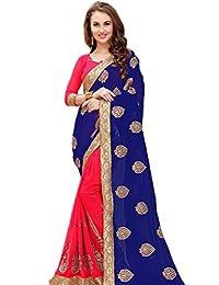 KIMANA Indian Designer Ethnic Bollywood Traditional Georgette Saree Sari S3864
