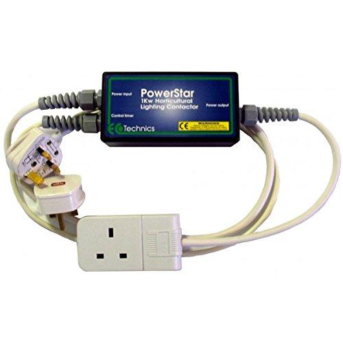 Powerstar Contactor 1kw max Grow Light Controller Ecotechnics