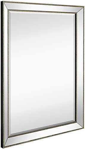 Hamilton Hills Large Framed Wall Mirror