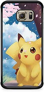 Coque Samsung Galaxy S7 EDGE Pokemon go team pokedex Pikachu Manga Tortank Game boy color Salameche Noctali valor mystic instinct