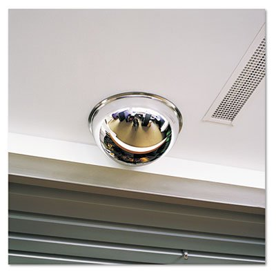 Full Dome Convex Security Mirror, 18'' dia., Sold as 2 Each