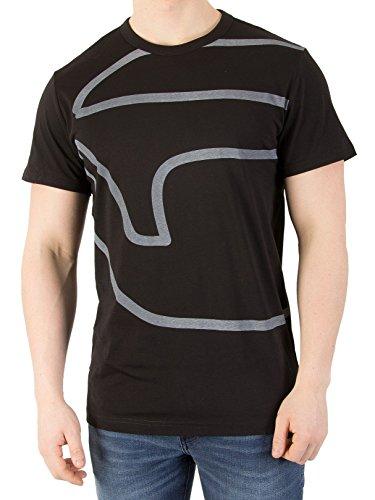 G-Star Men's Ascop T-Shirt, Black, Medium