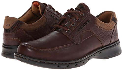 Clarks Unstructured Men's Un.Bend Casual Oxford,Brown,9 M US