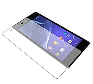 Tempered Glass Screen Protector for Sony Xperia Z1 with 9H Hardness and Anti-scratch