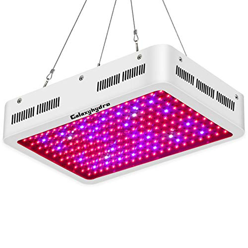 Roleadro Galaxyhydro 600W LED Plant Grow Light Full Spectrum with UV&IR for Indoor Greenhouse Plants Veg and Flower