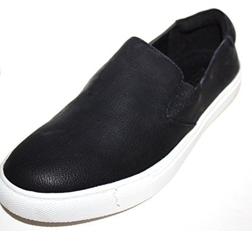 Kenneth Cole Reaction Women's Keena Slip On Sneakers Shoes (7.5, Black)