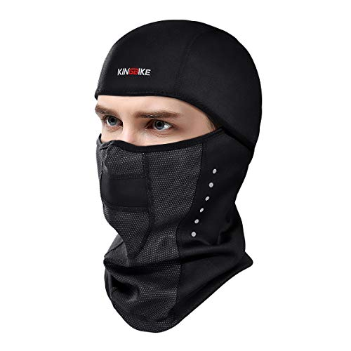 KINGBIKE Balaclava Ski Mask Motorcycle Running Full Face Cover Windproof  Waterproof Neoprene With Micro-polar 72bf1497d0d4
