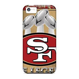 RandileeStewart Apple Iphone 5c Excellent Hard Cell-phone Cases Unique Design Vivid San Francisco 49ers Series [oQU2050DmLD]